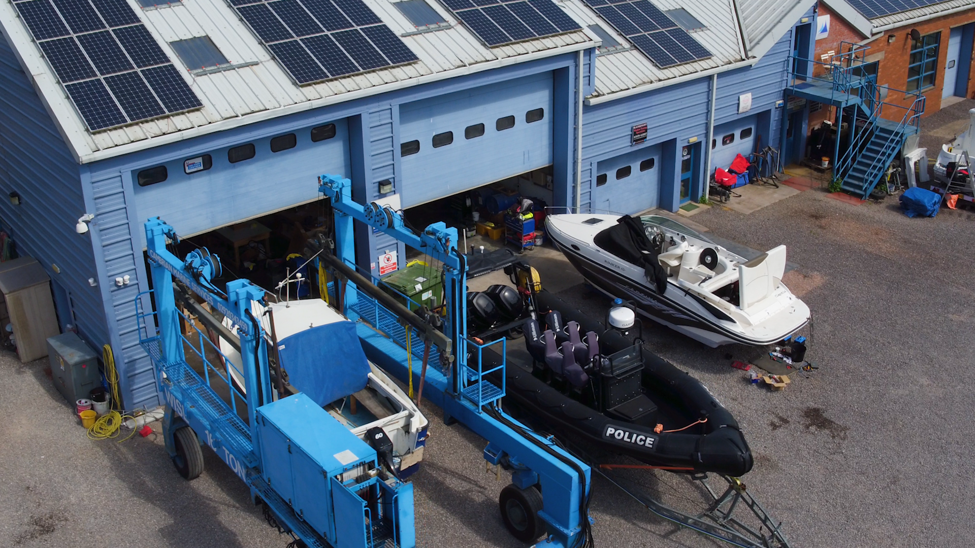 Boatyard Services | The Marine Group