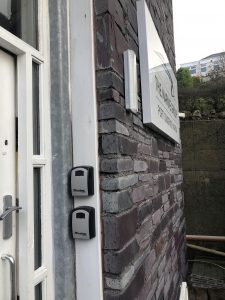 Port Dinorwic, Temporary Toilet Nightime Key Box