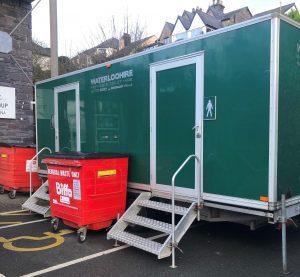 Port Dinorwic Temporary Toilets