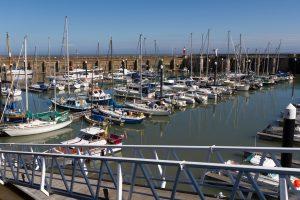 Watchet harbour Somerset