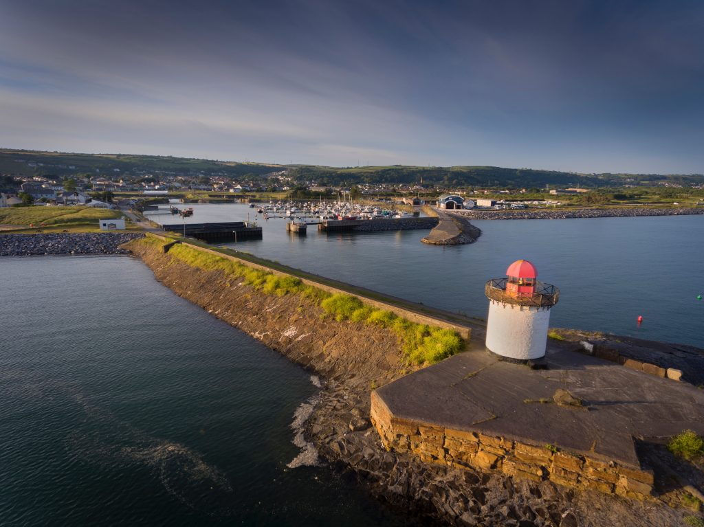 Burry Port, a small coastal town on the outskirts of Llanelli in Carmarthenshire, Wales, UK